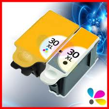 Kodak 30XL Black & Colour Multipack Compatible Ink Cartridges