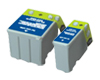Set of Epson T013BK & T014C Compatible Ink (2) Cartridges