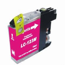 Brother LC125M (LC123M) Magenta Ink Cartridge Compatible